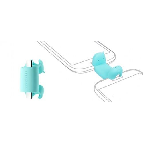 Портативный передатчик заряда MicroUSB-MicroUSB в силиконовом чехле серия Power Transporter (превращает гаджет в зарядное устройство, совместим с любым USB-OTG гаджетом)