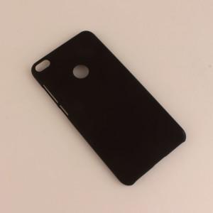 Пластиковый непрозрачный матовый чехол для Huawei Honor 8 Lite Черный