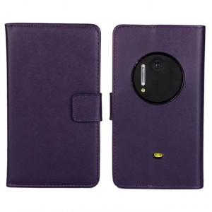 Чехол портмоне подставка для Nokia Lumia 1020 Фиолетовый