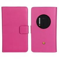 Чехол портмоне подставка для Nokia Lumia 1020 Пурпурный