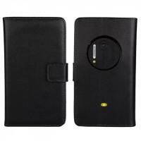 Чехол портмоне подставка для Nokia Lumia 1020 Черный