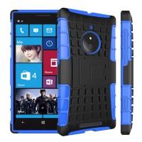 Силиконовый чехол экстрим защита для Nokia Lumia 830 Синий