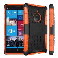 Силиконовый чехол экстрим защита для Nokia Lumia 830 Оранжевый