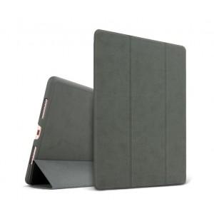 Сегментарный винтажный чехол книжка подставка на непрозрачной поликарбонатной основе для Ipad (2017)/Ipad (2018)
