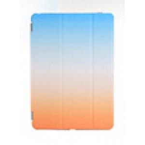 Сегментарный чехол книжка подставка на непрозрачной поликарбонатной основе с полноповерхностным принтом для Ipad (2017)/Ipad (2018)