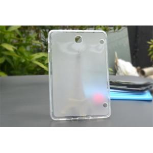 Силиконовый матовый полупрозрачный чехол для Samsung Galaxy Tab A 8 Белый
