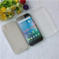 Силиконовый матовый полупрозрачный чехол для Acer Liquid Z630/Z630S Белый