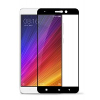 Полноэкранное ультратонкое износоустойчивое сколостойкое олеофобное защитное стекло-пленка для Xiaomi Mi5S Plus Черный