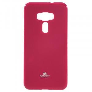 Силиконовый глянцевый непрозрачный чехол для Asus ZenFone 3 5.5 Пурпурный