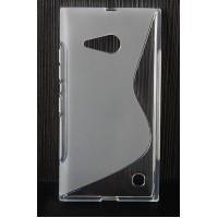 Силиконовый S чехол для Nokia Lumia 730/735 Серый