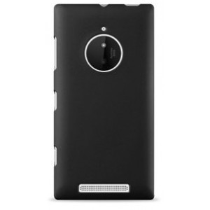 Пластиковый чехол серия Newlook для Nokia Lumia 830 Черный
