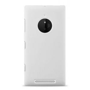 Пластиковый чехол серия Newlook для Nokia Lumia 830 Белый