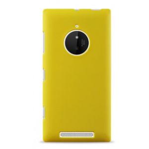 Пластиковый чехол серия Newlook для Nokia Lumia 830 Желтый