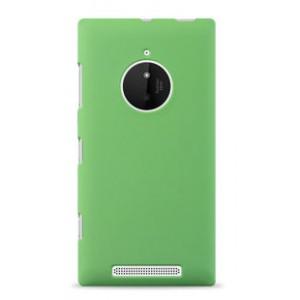 Пластиковый чехол серия Newlook для Nokia Lumia 830 Зеленый