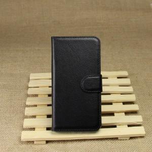 Чехол портмоне подставка на силиконовой основе на магнитной защелке для Sony Xperia Z1 Compact Черный
