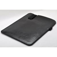 Кожаный мешок папка (иск. кожа) на резинке с поддержкой для стилуса для Ipad Pro 10.5 Черный