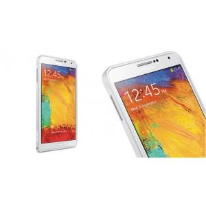 Металлический бампер для Samsung Galaxy Note 4 Белый