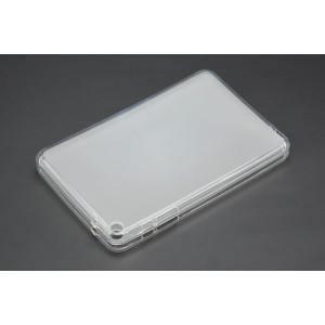 Силиконовый матовый полупрозрачный чехол для Huawei MediaPad T3 8 Белый