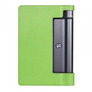 Чехол подставка с рамочной защитой экрана для Lenovo Yoga Tab 3 10 Зеленый