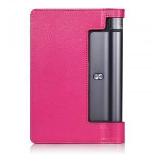 Чехол подставка с рамочной защитой экрана для Lenovo Yoga Tab 3 10 Пурпурный