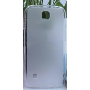 Силиконовый матовый полупрозрачный чехол для LG K3