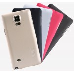 Пластиковый матовый нескользящий премиум чехол для Samsung Galaxy Note 4