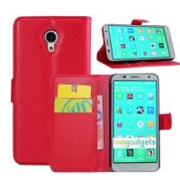 Чехол портмоне подставка с защелкой для Alcatel One Touch Idol 2 S