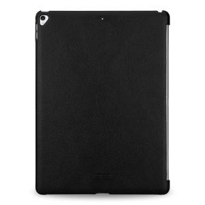 Кожаный чехол накладка (премиум нат. кожа) для Ipad Pro 12.9 (2017) Черный