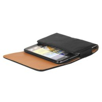 Кожаный чехол-кобура на пояс для LG L90