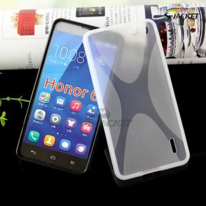 Силиконовый X чехол для Huawei Honor 6