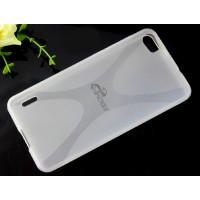 Силиконовый X чехол для Huawei Honor 6 Белый