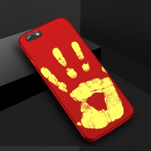 Эксклюзивный термосенсорный силиконовый матовый непрозрачный чехол для Iphone 5/5s/SE