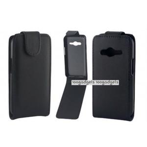 Чехол вертикальная книжка с магнитной застежкой для Samsung Galaxy Ace 4