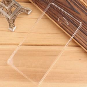 Пластиковый транспарентный чехол для Sony Xperia M2 Aqua