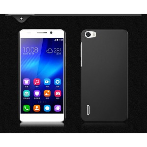 Пластиковый матовый непрозрачный чехол для Huawei Honor 6