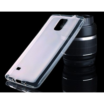 Силиконовый транспарентный ультратонкий 0.5 мм чехол для Samsung Galaxy Note 4