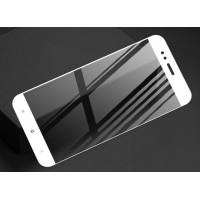 Полноэкранное ультратонкое износоустойчивое сколостойкое олеофобное защитное стекло-пленка для Xiaomi Mi5X/Mi A1 Белый