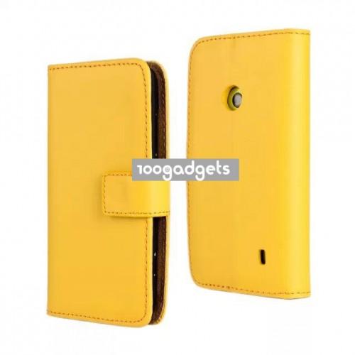 Чехол портмоне подставка с защелкой для Nokia Lumia 520