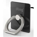Металлическое антиграбежное клеевое кольцо-подставка для одноручного управления гаджетом