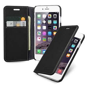 Кожаный чехол портмоне (нат. кожа с винтажной обработкой) для Iphone 6