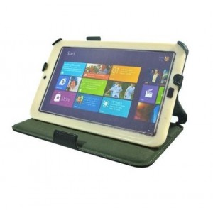 Кожаный чехол подставка для планшета Acer Iconia W3