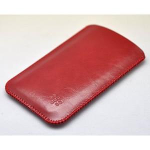 Кожаный вощеный мешок для BlackBerry KEYone