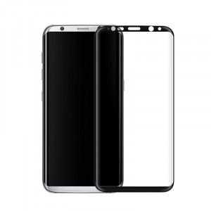 Полноэкранное ультратонкое износоустойчивое сколостойкое олеофобное защитное стекло-пленка для Samsung Galaxy S8 Plus