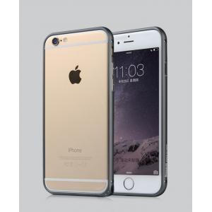 Металлический закругленный бампер для Iphone 6 Plus Черный