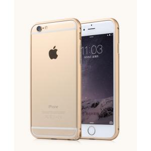 Металлический закругленный бампер для Iphone 6 Plus Бежевый