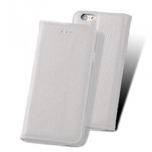 Кожаный чехол флип подставка со слотом для карты для Iphone 6 Plus