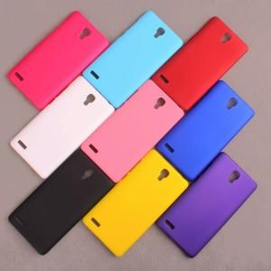 Пластиковый матовый непрозрачный чехол для Xiaomi RedMi Note