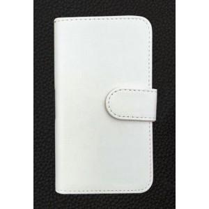 Винтажный чехол портмоне подставка на клеевой основе с отсеком для карт на магнитной защелке для Alcatel Shine Lite