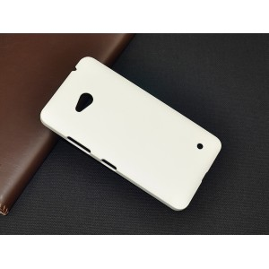 Пластиковый матовый непрозрачный чехол для Microsoft Lumia 640 Белый