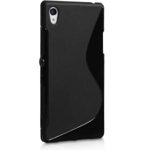 Силиконовый S чехол для Sony Xperia Z5 Черный